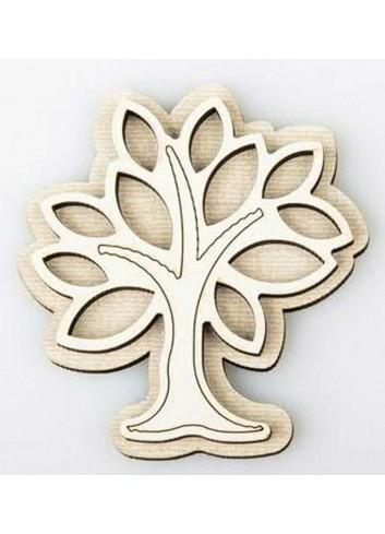 Magnete Albero della vita in legno D5731 Cuor Raggiante Cuorematto