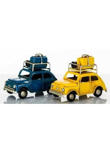 Auto antica con luce led 2 colori assortiti D5621 Cuorveloce Cuorematto