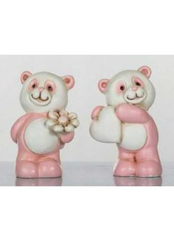 Panda rosa mini 2 assortiti 5 H. cm D5649 Tutti Panda Cuorematto