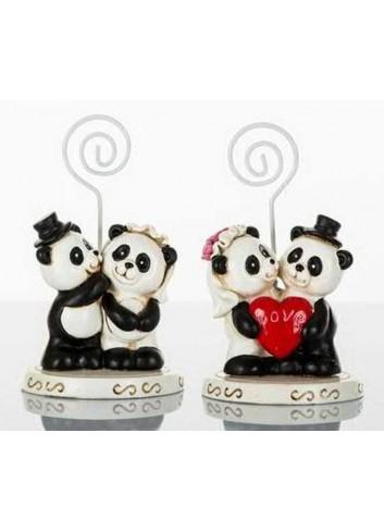 Memoclip Panda Sposi 2 assortiti D5654 Tutti Panda Cuorematto
