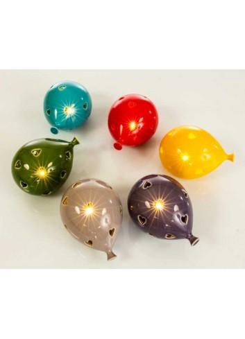 Lampada led Palloncino 6 colori assortiti D5888 Lampade led Cuorematto