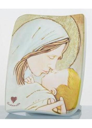 Icona Maternità con scatola D5746-7-8 Cuore Sacro Cuorematto