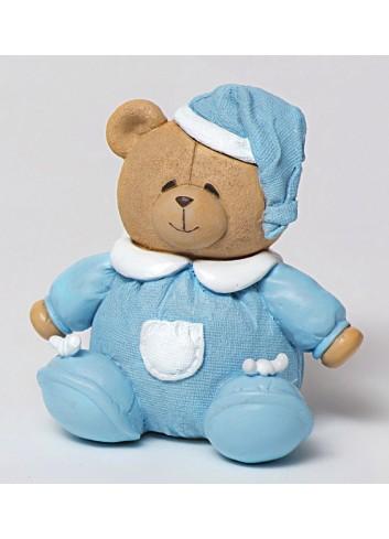 Salvadanaio orsetto celeste 130452/B3 Teddy AD Emozioni