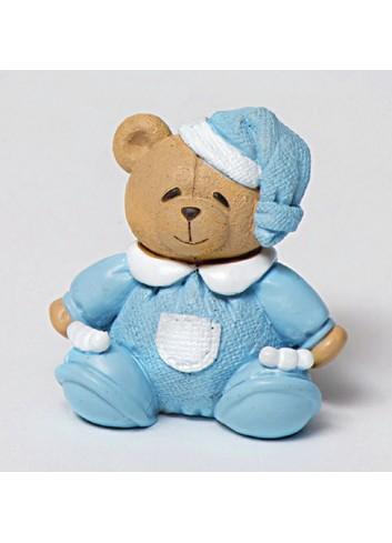 Magnete orsetto celeste 130451/3 Teddy AD Emozioni