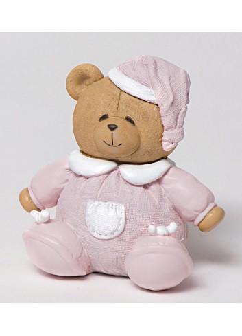 Salvadanaio orsetto rosa 130452/B2 Teddy AD Emozioni