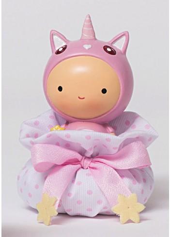 Unicorno rosa piccolo con sacchettino 130443/A Rainbow AD Emozioni