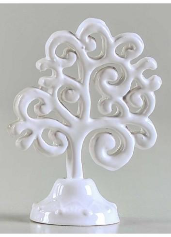 Albero della vita da appoggio in ceramica porcellanata artigianale pugliese