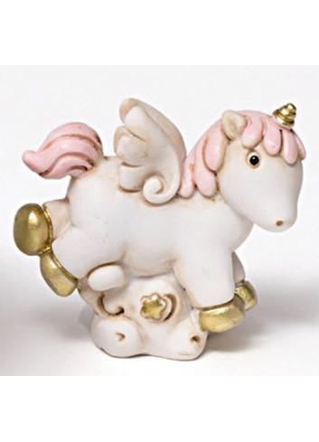 Unicorno piccolo in poliresina 130342-2 Pegaso Ad Emozioni