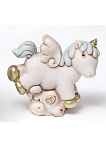 Unicorno piccolo in poliresina 130342/3 Pegaso Ad Emozioni