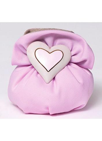 Magnete cuore in poliresina con sacchetto 130404/A2 Ninna Nanna Ad Emozioni