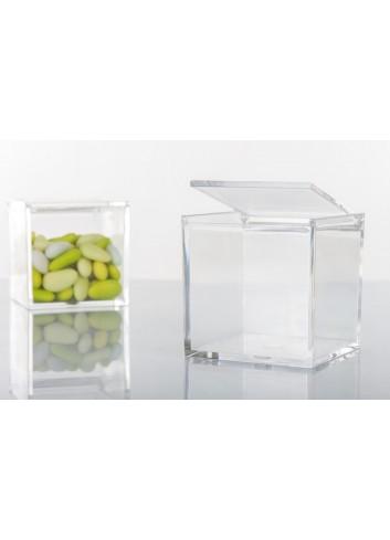 Scatolina in plastica 8 x 8 x 8 cm G3007 Kharma Living