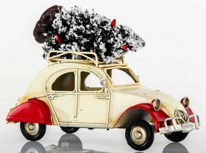 Auto 2CV Natale L. 16 cm E3300 Kharma Living