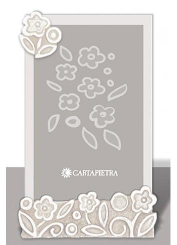 Portafoto profumato Prati in fiore neutro pbh15/18/24nt Cartapietra