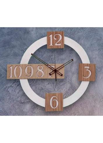 Orologio da parete in metallo e legno ACC-49 Access Negò