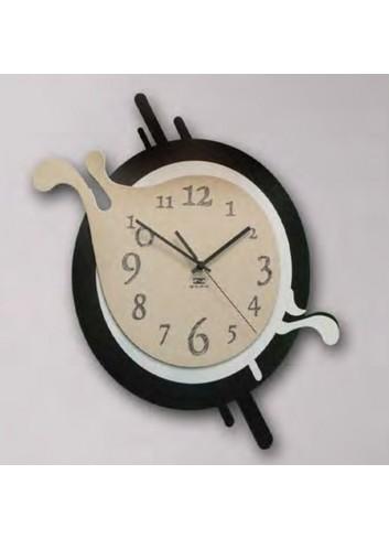 Orologio da parete in metallo e legno ALT-49 P Altered Negò