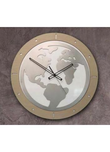 Orologio in metallo, legno e materiale polimerico WOR-39 WOR-49 World Negò