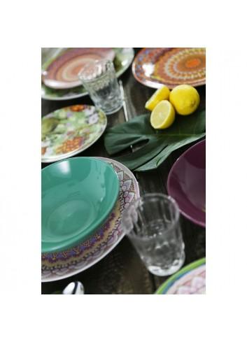 Servizio Tavola Maharaja 18 pezzi in porcellana e gres 2413721 Villa D'este Home Tivoli