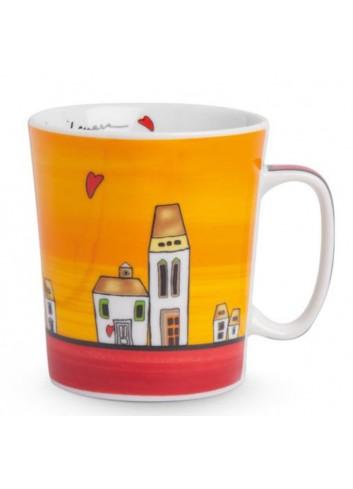 Mug Rosso 430 ml PLC21/1R Le casette Egan