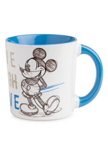 Mug Mickey Blu 390 ml PWM21LL/1B Live Laugh Love Egan