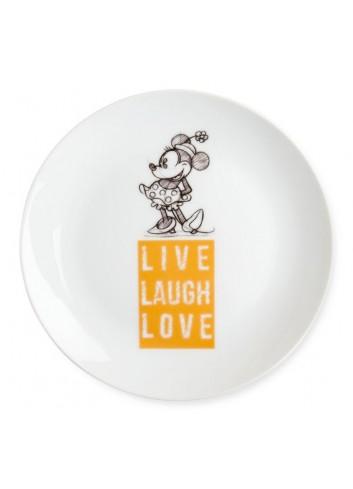 Piatto dolce Minnie Ø 19 cm Arancio PWM61LL/1A Live Laugh Love Egan