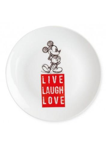 Piatto dolce Mickey Ø 19 cm Rosso PWM61LL/1S Live Laugh Love Egan