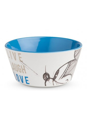 Bowl Mickey Ø 13 cm Blu PWM91LL/1B Live Laugh Love Egan