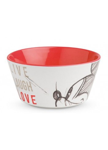 Bowl Mickey Ø 13 cm Rosso PWM91LL/1S Live Laugh Love Egan