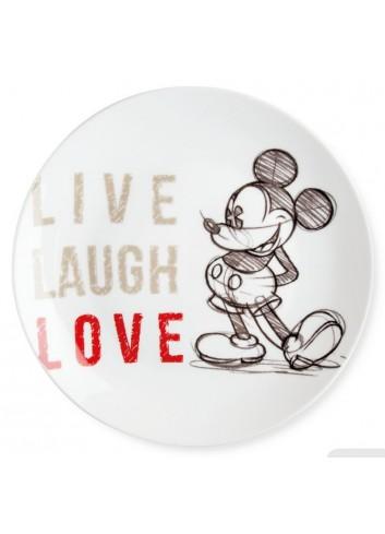 Piatto portata Mickey Ø 27 cm Rosso PWM37LL/5S Live Laugh Love Egan