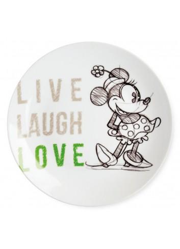 Piatto portata Minnie Ø 27 cm Verde PWM37LL/5V Live Laugh Love Egan