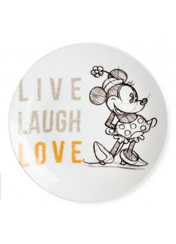 Piatto portata Minnie Ø 27 cm Arancio PWM37LL/5A Live Laugh Love Egan