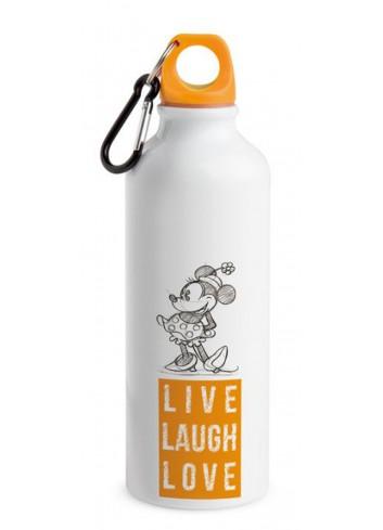 Borraccia in alluminio 500 ml Minnie Arancio PWM44LL/A Live Laugh Love Egan