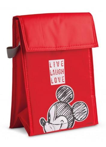 Borsa termica 18 x 25 cm Mickey Rosso PWM35LL/S Live Laugh Love Egan