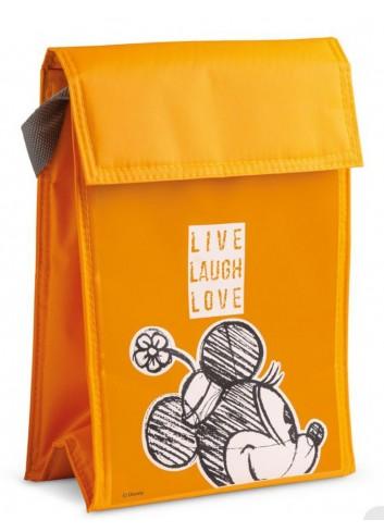 Borsa termica 18 x 25 cm Minnie Arancio PWM35LL/A Live Laugh Love Egan