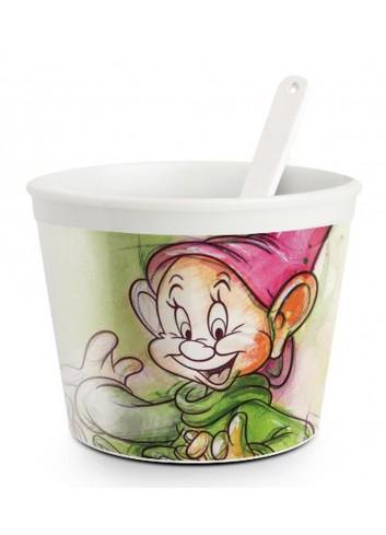 Coppetta gelato con cucchiaino Cucciolo Ø 9 cm PWS92/1CU Sette Nani Egan
