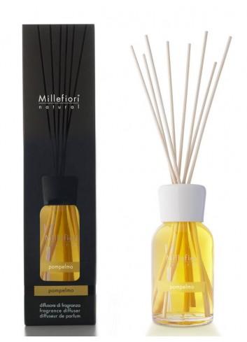 Diffusore di fragranza a bastoncini Pompelmo 7MDPO-7DDPO-7DIPO Natural Millefiori Milano