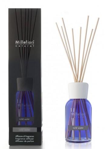 Diffusore di fragranza a bastoncini Cold Water 7MDCW-7DDCW-7DICW Natural Millefiori Milano