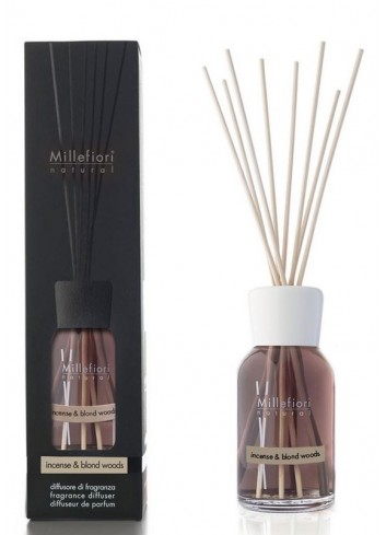 Diffusore di fragranza a bastoncini Incense & Blond Woods 7MDIW-7DDIW-7DIIW Natural Millefiori Milano