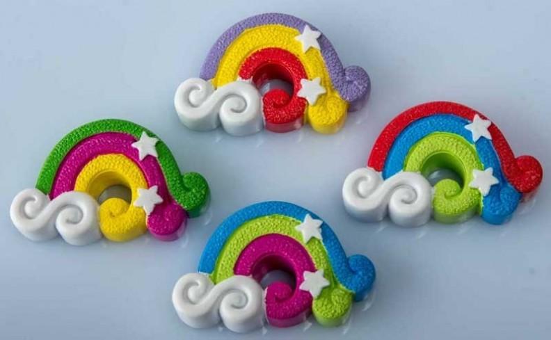 Magnete arcobaleno 4 modelli assortiti B9267 Kharma Living