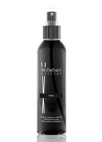 Spray per ambiente 150 ml Nero 7SRNR Natural Millefiori Milano