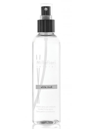 Spray per ambiente 150 ml White Musk 7SRMB Natural Millefiori Milano