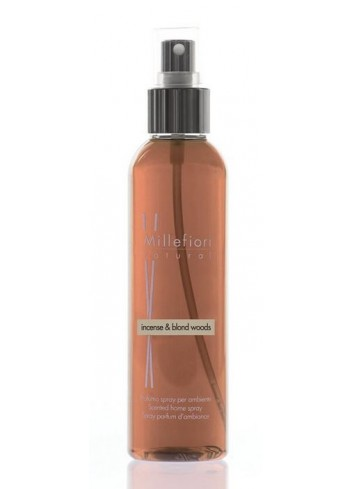 Spray per ambiente 150 ml Incense & Blond Woods 7SRIW Natural Millefiori Milano