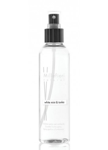 Spray per ambiente 150 ml White Mint & Tonka 7SRWT Natural Millefiori Milano