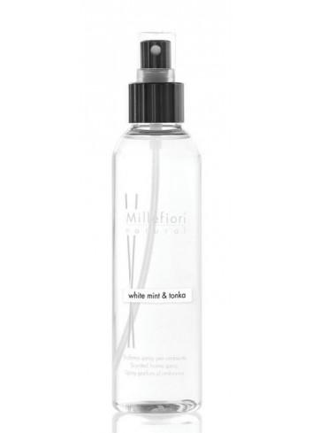 Spray per ambiente 150 ml White Mint & Tonka 7SRWT Natural Millefiori Milano