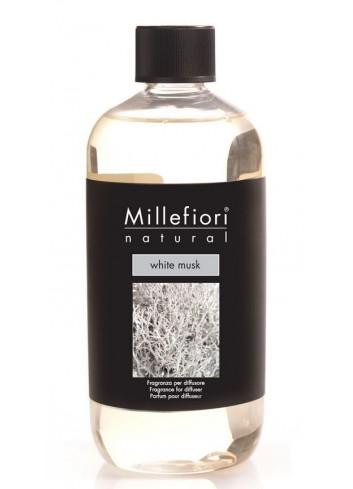 Ricarica per diffusore a bastoncino White Musk 7REMB-7REMB Natural Millefiori Milano