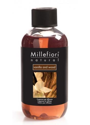 Ricarica per diffusore a bastoncino Vanilla and Wood 7REMDV-7REDV Natural Millefiori Milano