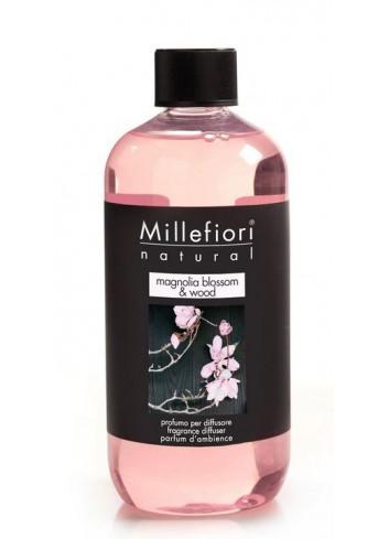 Ricarica per diffusore a bastoncino Magnolia Blossom & Wood 7REMMW-7REMW Natural Millefiori Milano