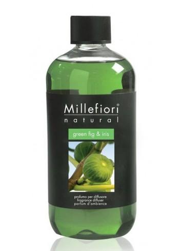 Ricarica per diffusore a bastoncino Green Fig & Iris 7REMGI-7REGI Natural Millefiori Milano