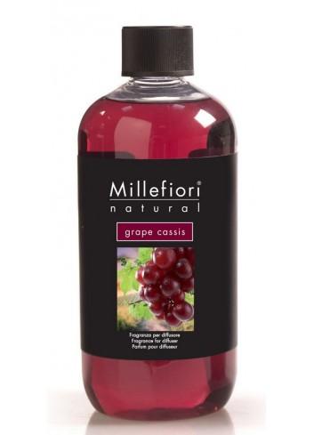 Ricarica per diffusore a bastoncino Grape Cassis 7REMGC-7REGC Natural Millefiori Milano