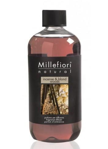 Ricarica per diffusore a bastoncino Incense & Blond Woods 7REMIW-7REIW Natural Millefiori Milano