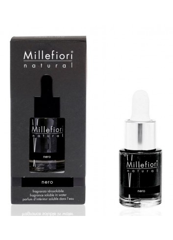 Fragranza idrosolubile 15 ml Nero 7FINR Hydro Natural Millefiori Milano
